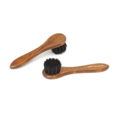 Photo de BROSSE CIRAGE CRIN RONDE NOIR  BR4N
