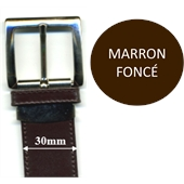 Photo de CEINTURE 30mm CROUTE  M.F.