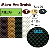 Photo de PLAQUE MICRO EVA GRAINE 53X90