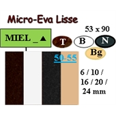 Photo de PLAQUE MICRO EVA LISSE 53X90