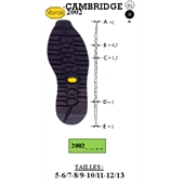 Photo de SEMELLE CAMBRIDGE REF 2002 VIBRAM