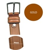 Photo de CEINTURE 30mm VACHETTE  GOLD